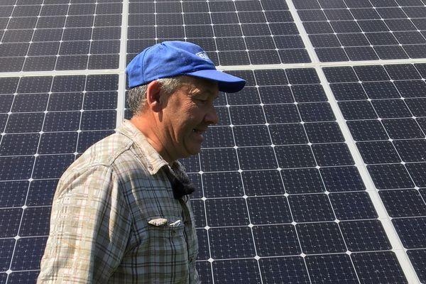 Frédéric Bontems a décidé de fabriquer sa propre centrale solaire dans les Vosges