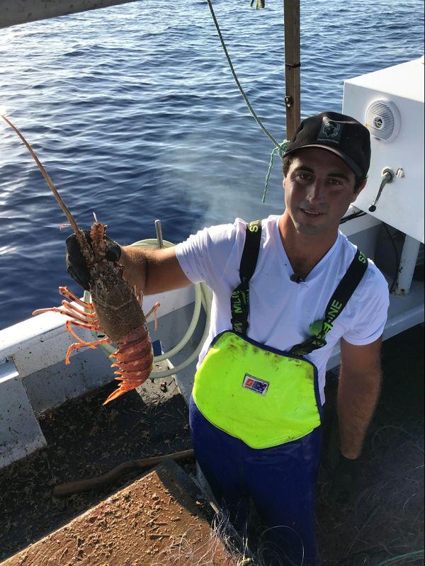 Grégory Dellapina est le plus jeune des six pêcheurs de Centuri.