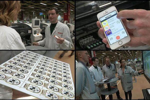 """L'entreprise parisienne Wistiki a choisi l'usine Bosch Mondeville pour faire fabriquer ses """"mouchards"""" connectés"""