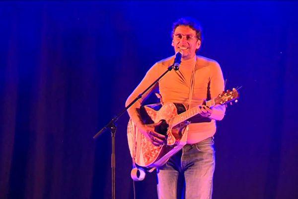 Didier Super, sur scène ce samedi soir à Breil-sur-Roya.