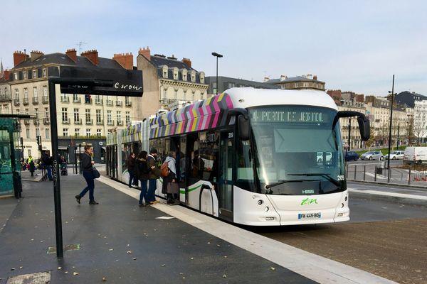 Bus et trams de la métropole de Nantes seront gratuits les 3 week-ends précédant Noël 2020