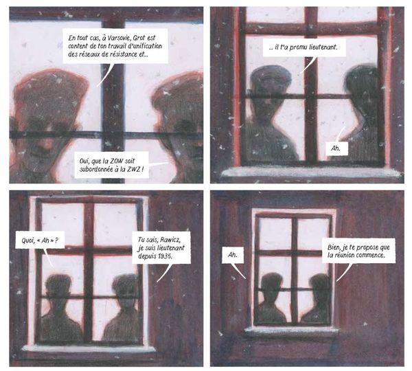 Cases extraites du Rapport W - infiltré à Auschwitz