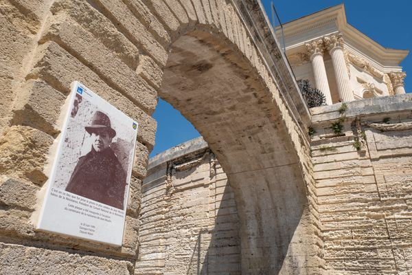 Le plus célèbre portrait de Jean Moulin a été pris à Montpellier.