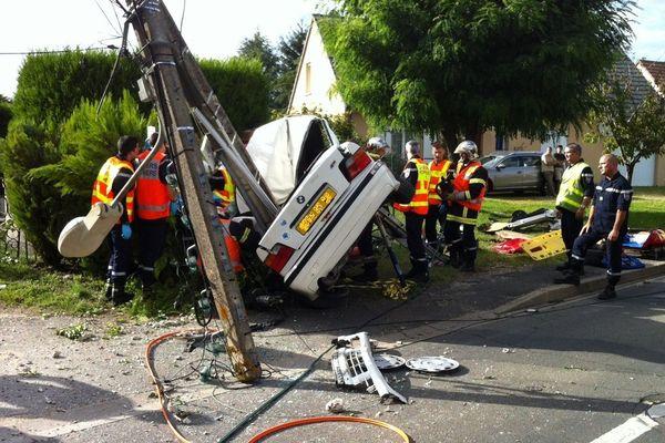 Accident à Vineuil (41)