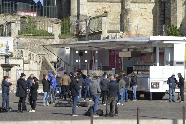Les forains aux Jacobins au Mans, le 26 mars 2019