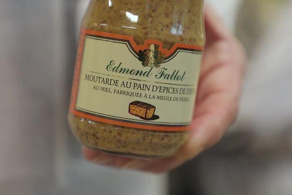 La moutarde au pain d'épice pour allier deux saveurs made in Bourgogne.