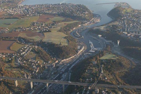 Le port du Légué à St Brieuc.