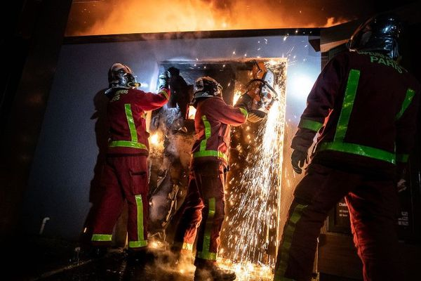 L'incendie a commencé vers 2h40 du matin.