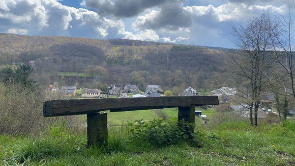 La quiétude des collines de Landrichamps avec la frontière belge si proche