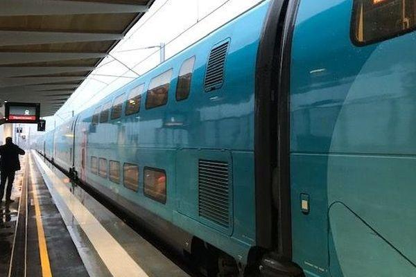Le premier TGV s'est arrêté ce vendredi 20 décembre en gare de Manduel -