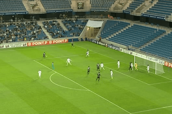 Le match s'est joué au stade Océane au Havre devant 5000 spectateurs, dont... un seul Corse.