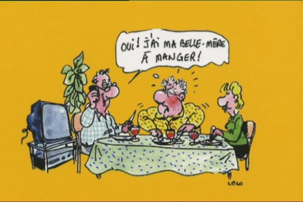 """Extrait de """"bretonnismes"""" illustré par Nono."""