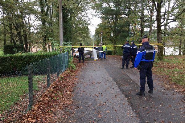 L'enquête se poursuit sur les lieux du crash de l'avion ULM Pioneer 200 de l'aéroclub de Saint-Junien (87).