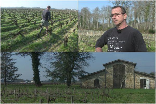 Depuis qu'il a perdu sa jambe après un accident, le viticulteur Hugues Delayat est en conflit avec l'assureur de la conductrice responsable. Il tente d'obtenir réparation complète de son préjudice pour conserver son domaine.