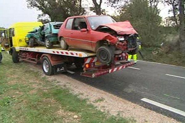 Le choc frontal a fait un mort sur la RD 612 à hauteur de Llupia.