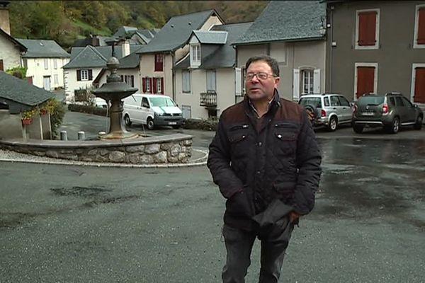 Jean-Pierre Chourout, maire de Sarrance