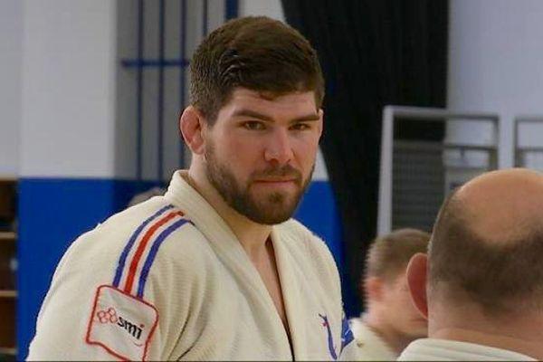 Cyrille Maret à l'entraînement à l'INSEP, en février 2016.