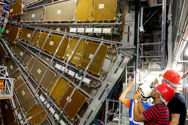 Le détecteur de particules Atlas, au Cern.