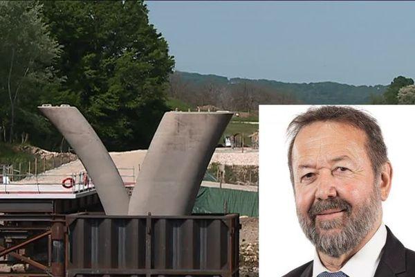Le Député LREM de la 2ème circonscription Michel Delpon se prononce en faveur de la poursuite du chantier de Beynac