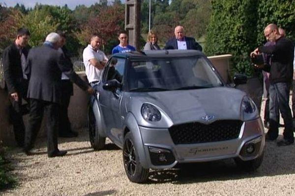 La Sporteevo, le nouveau modèle de l'entreprise limousine Chatenet