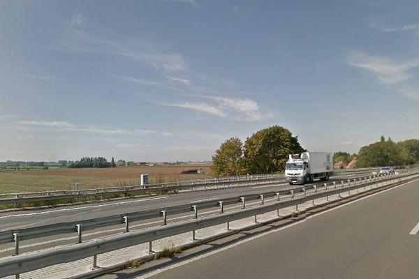 L'accident s'est produit dans le sens Lille-Dunkerque à hauteur de Méteren