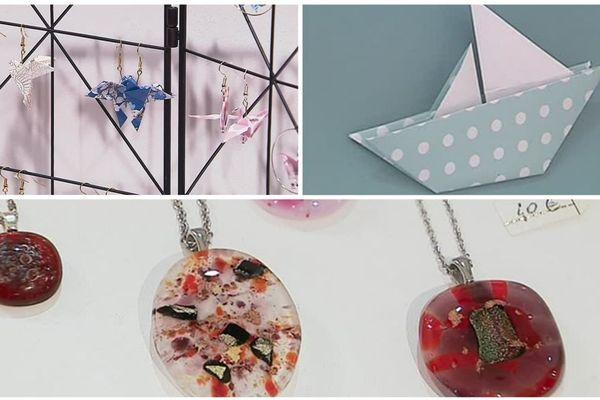 Des objets créés par des artisans d'Eure-et-Loir sont en vente dans la boutique éphémère