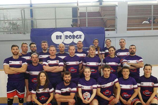 Les Equipes de France de Dodgeball 2017(Homme-Femme-Mixte ).