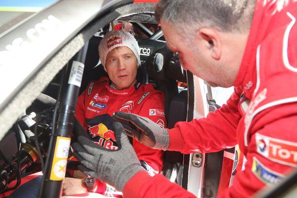 Le sextuple champion du monde des rallyes caracole à Monte-Carlo