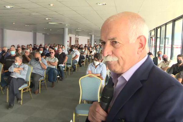 Maire de Cuttoli-Corticchiato, Jean Biancucci a été élu président du SDE2A avec 82 voix. Il succède à Joseph Pucci.
