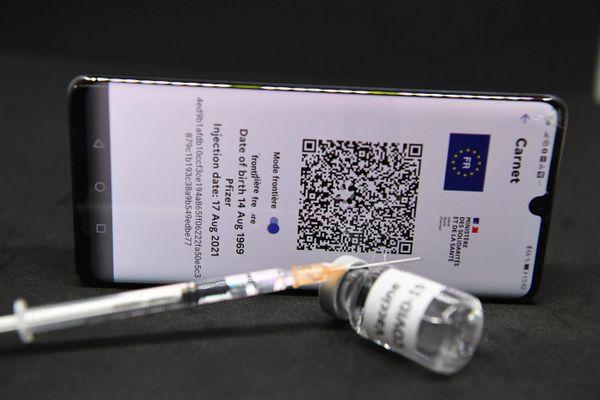 Image d'illustration d'un pass sanitaire.
