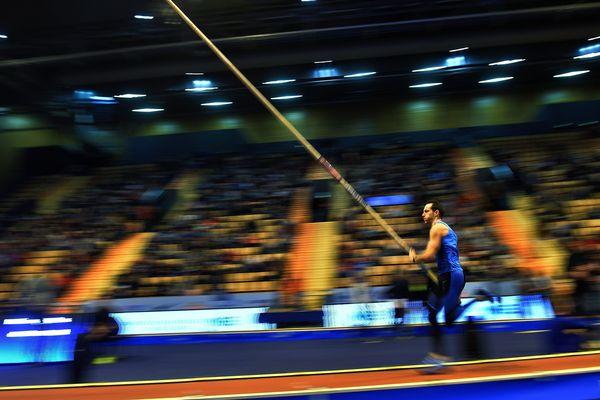 Avec un saut à 5,93m, Renaud Lavillenie est arrivé deuxième du concours All Star Perche derrière l'Américain Sam Kendricks