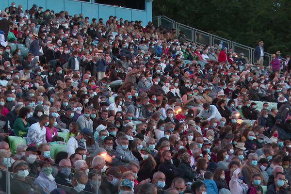 12 000 personnes ont assisté à la première représentation de la Cinéscénie, le 24 juillet 2020
