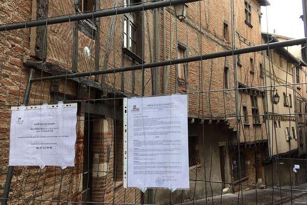 Au total, ce sont trois immeuble qui ont été évacués.