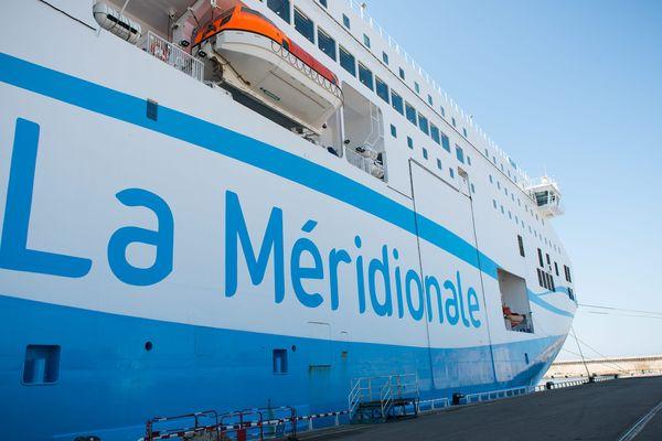 Un bateau de la Méridionale à quai dans le port de Bastia. Mais pour combien de temps encore?