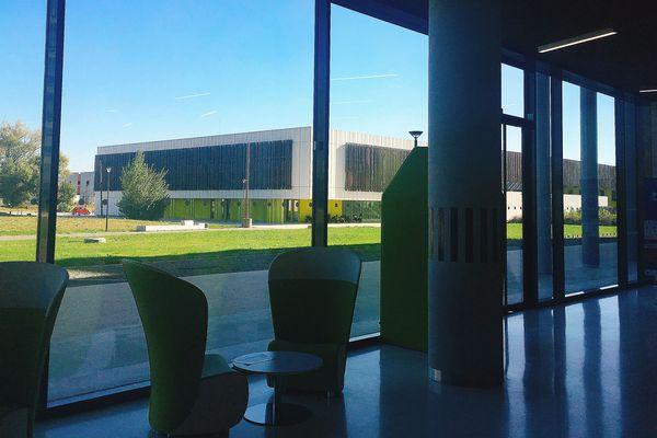 vue depuis le bâtiment B612 à Montaudran