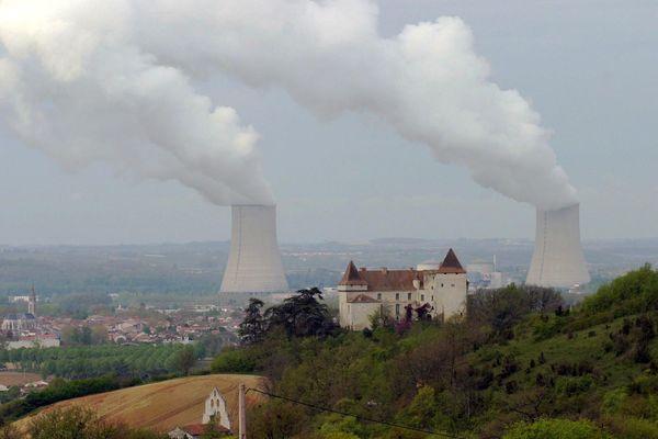 La centrale nucléaire de Golfech, dans le Tarn-et-Garonne