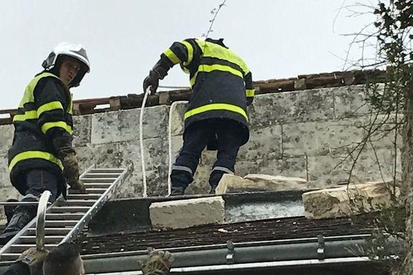 Les pompiers d'Indre-et-Loire ont dû intervenir à plusieurs reprises, notamment dans le sud Touraine