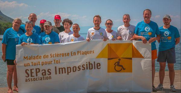 L'association SEPas Impossible lutte pour la création d'un centre pour les malades de la sclérose en plaques en Savoie.