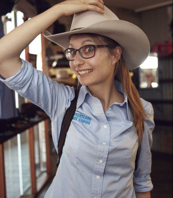 Elisa Detrez, park ranger en Australie