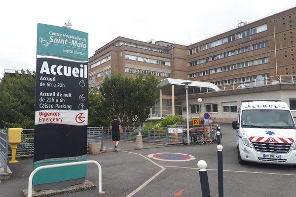 """L'hôpital de Saint-Malo va être démoli. Un autre sera construit mais """"pas obligatoirement sur le même site"""" indique le groupement hospitalier Rance Emeraude."""