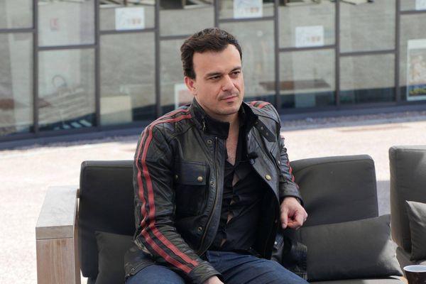 """Juan Carlos Medina, réalisateur de """"The Limehouse Golem"""" (l'un des films en compétition) est l'une des célébrités présentes aujourd'hui au Festival"""