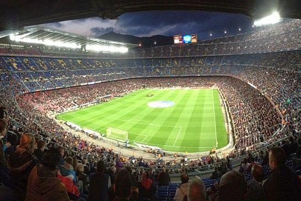 Barcelone - le stade du Camp Nou - 2014.