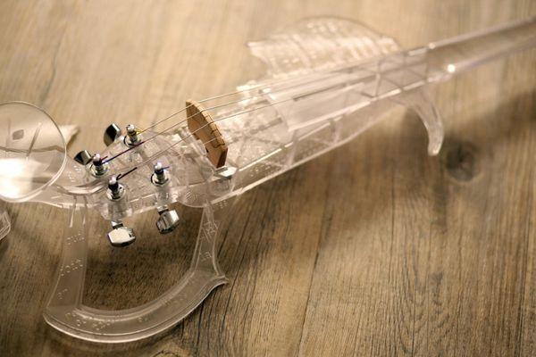Le 3Dvarius est transparent et personnalisable