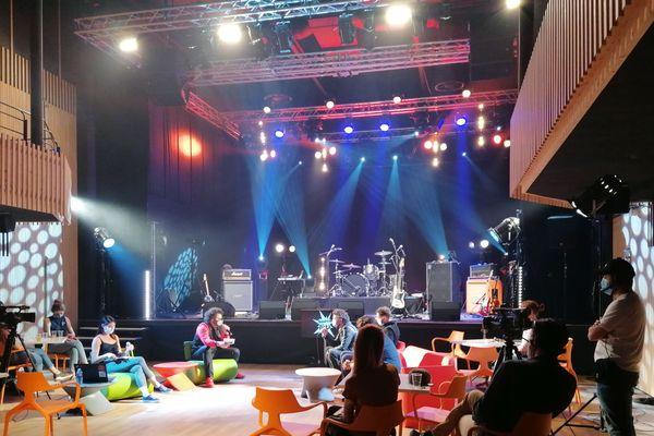 Les spectateurs pourront poser des questions aux artistes du grand Est en direct après le concert