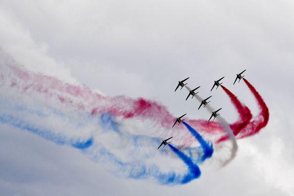 Samedi, la patrouille de France passera au dessus de l'aérodrome de La Veze à 17h