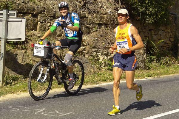 Hervé Seitz a remporté quatre fois les 100 kilomètres de Millau : 2015, 2016, 2018 et 2019