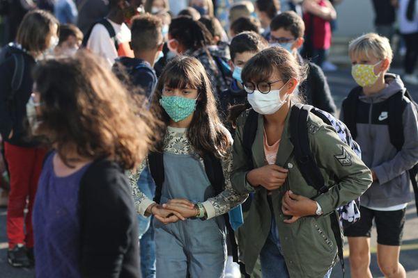 La semaine de la rentrée tombe à un moment où le virus se met à circuler activement en Normandie, particulièrement en Seine-Maritime