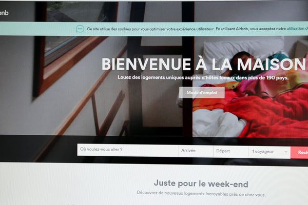 Une annonce sur le site Airbnb.