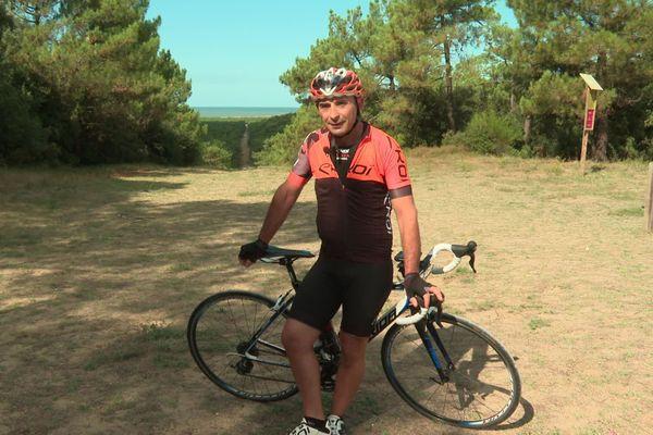Cyril, cycliste aguerri