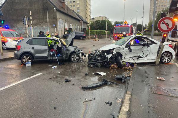 L'accident mortel s'est déroulé au croisement du boulevard Léon Blum et de la rue Francis Clerc